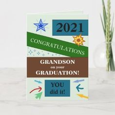 3740 Grandson Graduation Hat Card | Zazzle.com Graduation Theme, Graduation Party Supplies, High School Graduation, Graduation Cards, Graduation Invitations, Zazzle Invitations, Graduation Announcements, Congratulations Card, Custom Greeting Cards