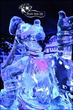 Goofy @ Ice Sculpture festival Bruges (Belgium)