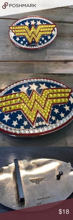 Belt buckle Wonder Woman Blinged our belt buckle! Accessories Belts