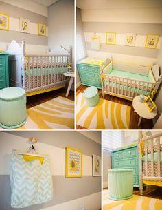 Olha o que eu sei fazer!: 15 Inspirações para o quarto do bebê