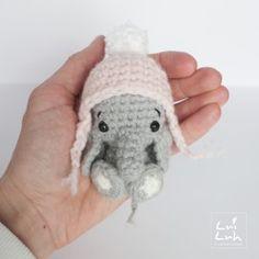 free amigurumi pattern elephant