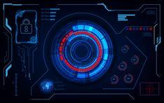 Futuristic Technology, Futuristic Design, Hologram Screen, Image Avatar, Head Up Display, Frame Template, Communication Design, Purple Backgrounds, Display Design