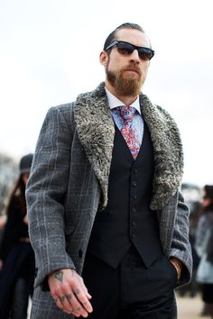On The Street…..Last Day of Fashion Week!, Paris - The Sartorialist