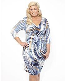 Gemma Collins Niagra Swirl Print Dress