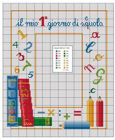 Cross Stitch Family, Cross Stitch For Kids, Cross Stitch Books, Cross Stitch Bookmarks, Cross Stitch Baby, Cross Stitch Charts, Cross Stitch Patterns, Embroidery Patterns, Crochet Patterns