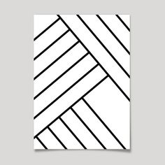 ART DECO print geometrical line art. Minimalistic by AsatoPrints