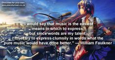 Quotes Love, William Faulkner, Piano Player, My Music, Singing, Album, Pure Products, Words, Memes