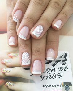 Uñas Dream Nails, Manicure And Pedicure, Cute Nails, Make Up, Nail Art, Ideas Para, Diana, Spa, Nail Bling