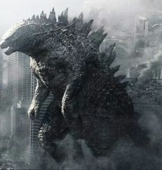 Godzilla of 2014, welcome to the new age. An age of monsters.