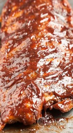 bbq baked ribs