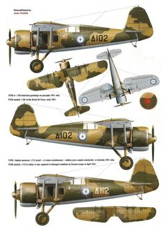 Myśliwiec PZL do pobrania Aircraft Parts, Ww2 Aircraft, Military Aircraft, Hellenic Air Force, Tank Armor, Aircraft Painting, Ww2 Planes, Vintage Airplanes, Parasol