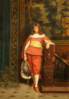 The Handsome Nobleman by Frederic Soulacroix (French 1858-1933)