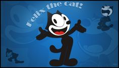 Felix the cat, a classic. Wallpaper - Felix The Cat Printed Magnets, Innocent Child, Classic Movie Posters, Felix The Cats, Comic Artist, Mickey Mouse, Disney Characters, Fictional Characters, Animation
