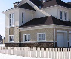 Custom Home Designs, Custom Homes, Dream Home Design, House Design, Facade House, Model Homes, Beautiful Homes, Architecture Design, Home And Garden