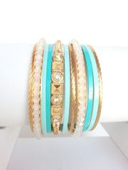 Nairobi Bangle Set - The Pink Studs Online Jewelry Boutique