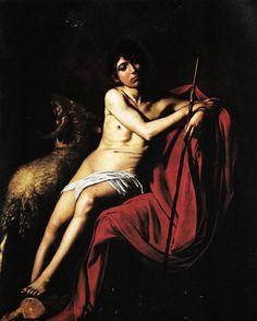 Caravaggio - San Giovanni Battista - 1610