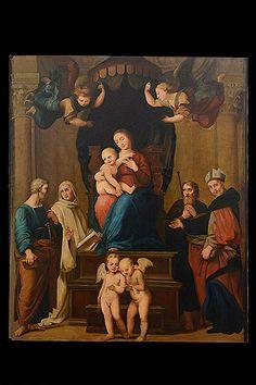 Antique religious Paintings | Alhambra Antiques