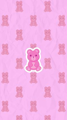 Pinky Wallpaper, Iphone Wallpaper, Red Ribbon, Cute Wallpapers, Bright Pink, Hello Kitty, Snoopy, Super Cute, Girly