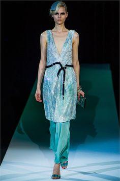 Giorgio Armani S/S 2013, Milan Fashion Week