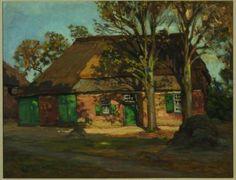Afbeelding : Roland Larij, Boerderij op Strabrecht te Heeze (ca. 1900, inv. nr. MKE 2003.11.15 )