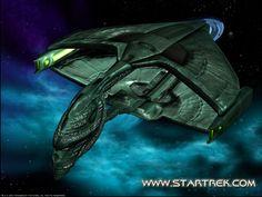 'Star Trek' Romulan D'deridex class Warbird by lezisell.deviantart.com on @DeviantArt