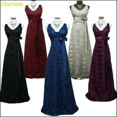 Cherlone Satin Ball Wedding/Evening Gown Sparkle Prom Bridesmaid Formal Dress  #Cherlone #Ballgown #Formal