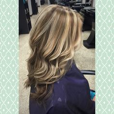 A beautiful ashy blonde highlight with chocolate brown lowlight! Gorgeous! Hair by Mandy Young. https://www.facebook.com/MandyYoungHairstylist