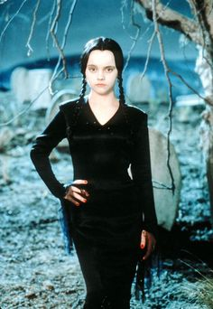 1991, an 11-year-old Christina Ricci starred in The Addams Family movie