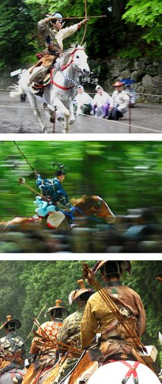 The yabusame, an opportunity to see the samurai exactly as they were in the twelfth century