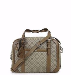 GUCCI Diamante Unisex Laptop Briefcase Travel Bag - Beige/Ebony #mariskelately #apparel #shopping #luxliving #luxuryshopping #onlinestore #beauty #bags #style #uniquestyle #fashion #fashionistas #lookfabulous #gucci #ilovegucci #gucciforever #guccigirl Laptop Briefcase, Gucci Handbags, Travel Bag, Beige, Unisex, Luxury, Shopping, Beauty, Style