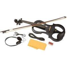 ELECTRONIC VIOLIN WITH CASE