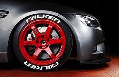 LK Performance Genuine Rubber Raised Falken Tyre Sticker Decal Vinyl Letters Bridgestone Tires, Falken Tires, Rat Look, Custom Wheels, Rubber Tires, Vinyl Lettering, Stickers, Impala, Truck Parts