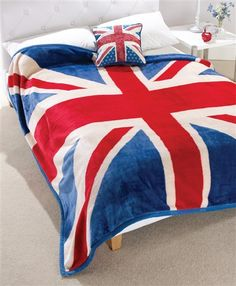 Union Jack Cushion, Union Jack Fleece
