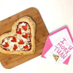 Learn how to create a heart shaped pizza with pepperoni hearts for Valentine's Day! Heart Shaped Pizza, Pepperoni, Heart Shapes, Valentines, Cooking, Recipes, Food, Valentine's Day Diy, Kitchen