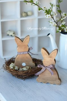 Пасхальная Коллекция/Easter Collection Hoppy Easter, Easter Bunny, Easter Eggs, Egg Crafts, Easter Crafts, About Easter, Woodworking Inspiration, Diy Ostern, Spring Projects