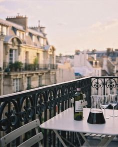 Paris, France // leave the wine