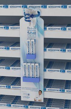 Sensodyne Hanger on Behance