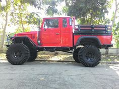 Landcruiser Truck - # Yes Please Toyota 4x4, Toyota Trucks, Toyota Cars, Toyota Hilux, 4x4 Trucks, Toyota Land Cruiser, Bug Out Vehicle, Jeep 4x4, Cool Cars