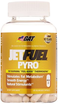 GAT Jetfuel Pyro, Research Driven 'Feel Good' Thermogenic Fat Burning Formula for Women, 120 capsules *** Quickly view this special  product, click the image : Weight loss Supplements