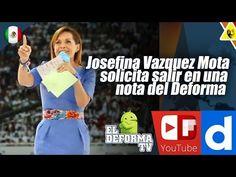65 Josefina Vazquez Mota solicita salir en una nota del Deforma