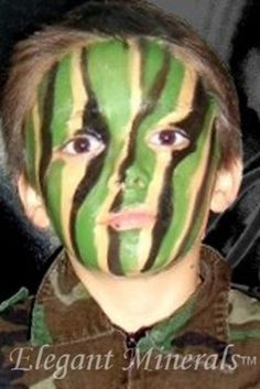Non Comedogenic Green Face Paint