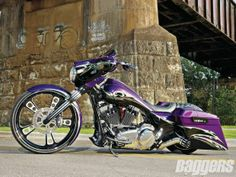 Custom Baggers California | Bad Ass Harley Davidson Baggers http://www.baggersmag.com/features ...