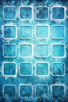 Snowflakes iPhone wallpaper