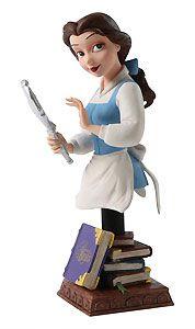 Beauty and the Beast - Belle with Mirror - Bust - Walt Disney Mini Busts - World-Wide-Art.com - $65.00 #Disney #BeautyAndTheBeast