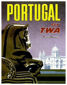 Portugal Art Wall Decor Retro Travel Poster ZT585 by Blivingstons