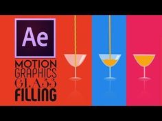 After Effects Tutorial:Motion Graphics Glass Filling Effect || Easy Way - YouTube