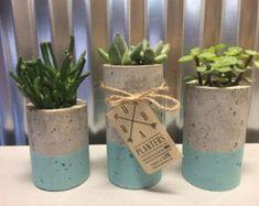 plantadores suculentos concreto plantadores de urba por ucdesign