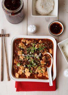 Resep Mapo Tofu & Homemade Minyak Cabai (Chili Oil)