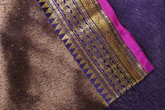 tussar benarasi silk saree from parisera
