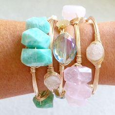 pretty pastel bracelets